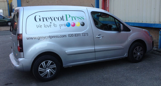 Greycot Press Van